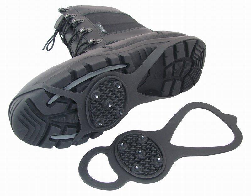 Накладки против скольжения на обувь своими руками