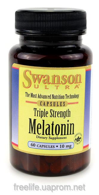 Препарат Мелатонин для сжигания калорий и быстрого похудения без упражнений, из США фото видео изображение