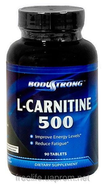 Жиросжигатель  L-карнитин, L-Carnitine 500mg фото видео изображение