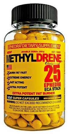 Цена Жиросжигатель  Methyldrene, Капсулы оригинал из США