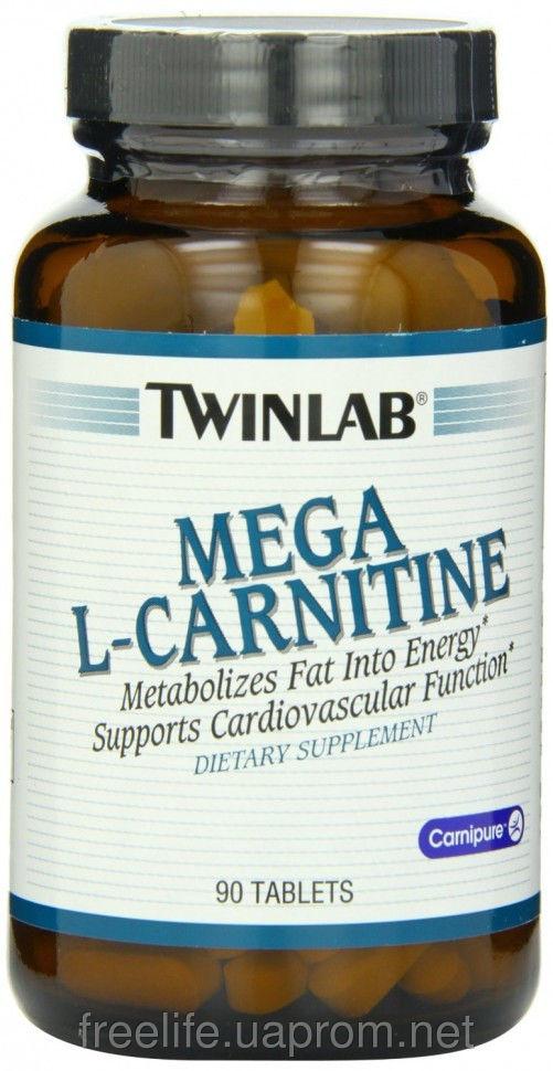 фото Жиросжигатель  L-карнитин, Mega L-Carnitine 500mg (90 таблеток&#041 видео отзывы