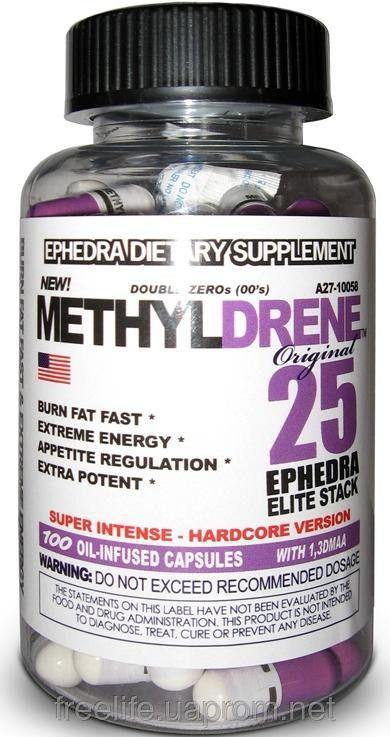 Жиросжигатель Methyldrene 25 Elite (100 капсул&#041 фото видео изображение