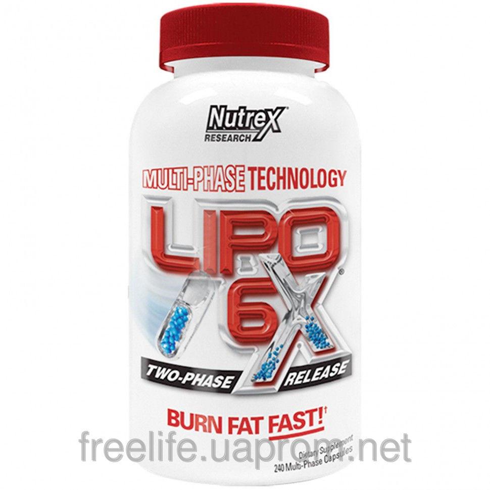 Жиросжигатель Lipo-6X (240 капсул) фото видео изображение