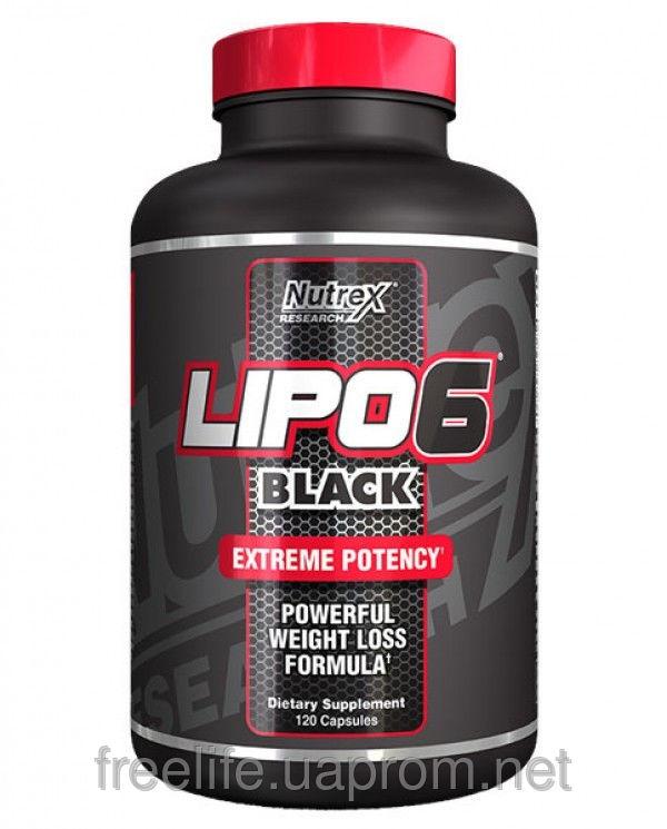 Жиросжигатель Lipo-6 Black (120 капсул) фото видео изображение