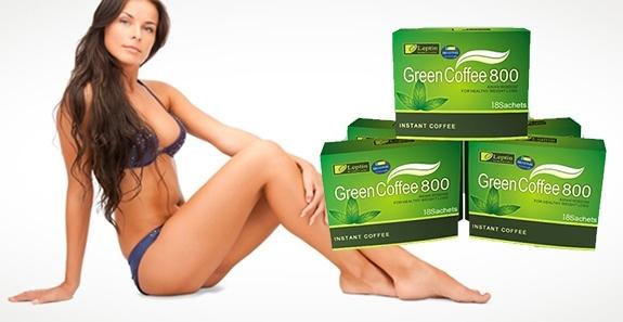 Зеленый кофе для похудения (упаковка USA) фото видео изображение