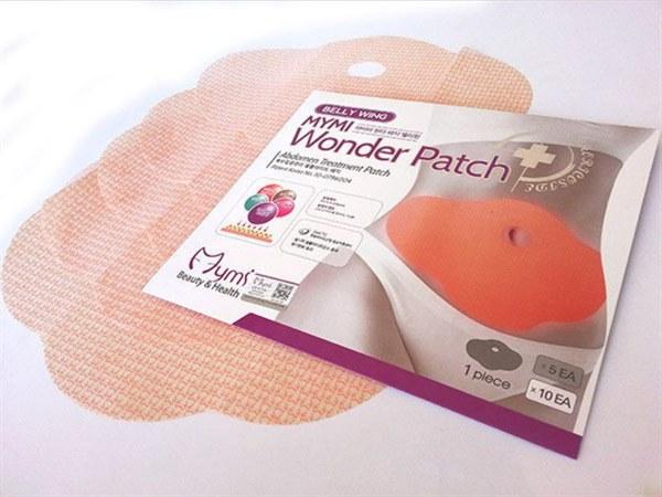 Mymi Wonder Patch (Муми Вондер Патч) Эффективные пластыри для похудения на живот 5 шт фото видео изображение