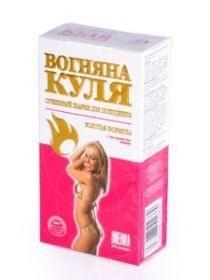 Цена Огненный шарик Вогняна куля для похудения 30 капсул в упаковке