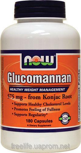 Глюкоманнан (Glucomannan) капсулы блокиратор аппетита №1  180 шт., для снижения веса