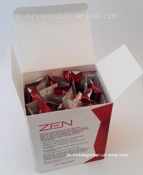 Jeunesse Zen Fit Фруктовый Пунш оригинал (USA)
