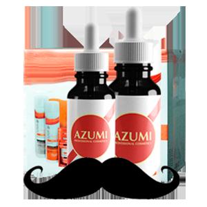 Сыворотка AZUMI для роста бороды фото видео изображение