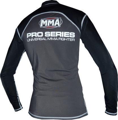 Рашгард Power System Combat Grey MMA-010 фото видео изображение
