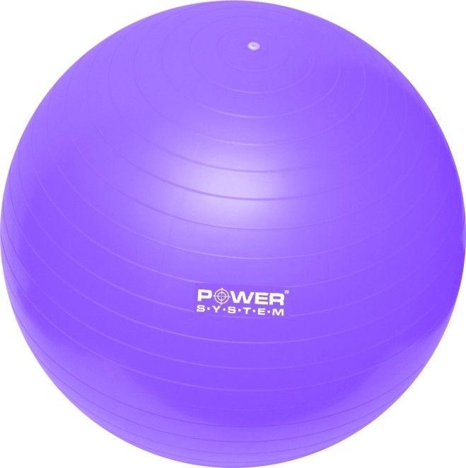 Мяч гимнастический POWER SYSTEM PS - 4012 65cm фото видео изображение