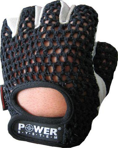 Перчатки Power System Basic PS-2100 S, Черный фото видео изображение