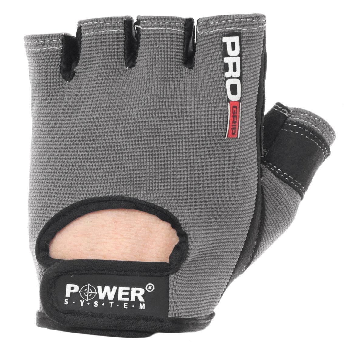 Перчатки Power System Pro Grip PS-2250 L, Серый фото видео изображение