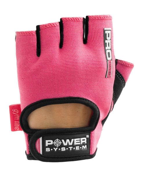 Перчатки Power System Pro Grip PS-2250 L, Розовый фото видео изображение