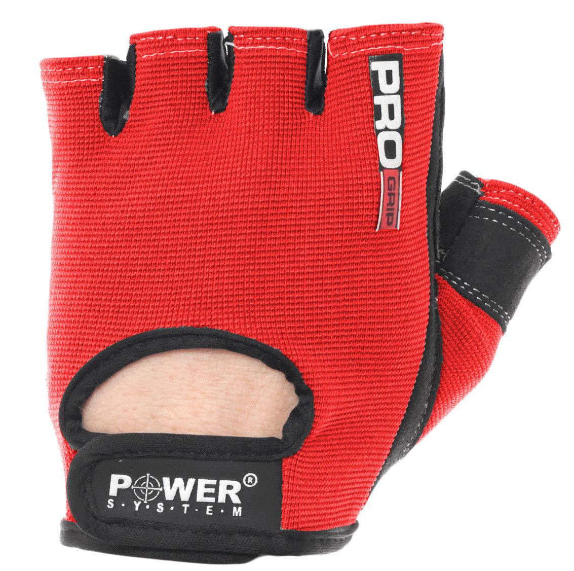 Перчатки Power System Pro Grip PS-2250 L, красный фото видео изображение