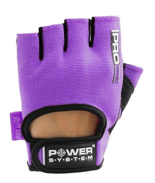 Перчатки Power System Pro Grip PS-2250 S, Фиолетовый фото видео изображение