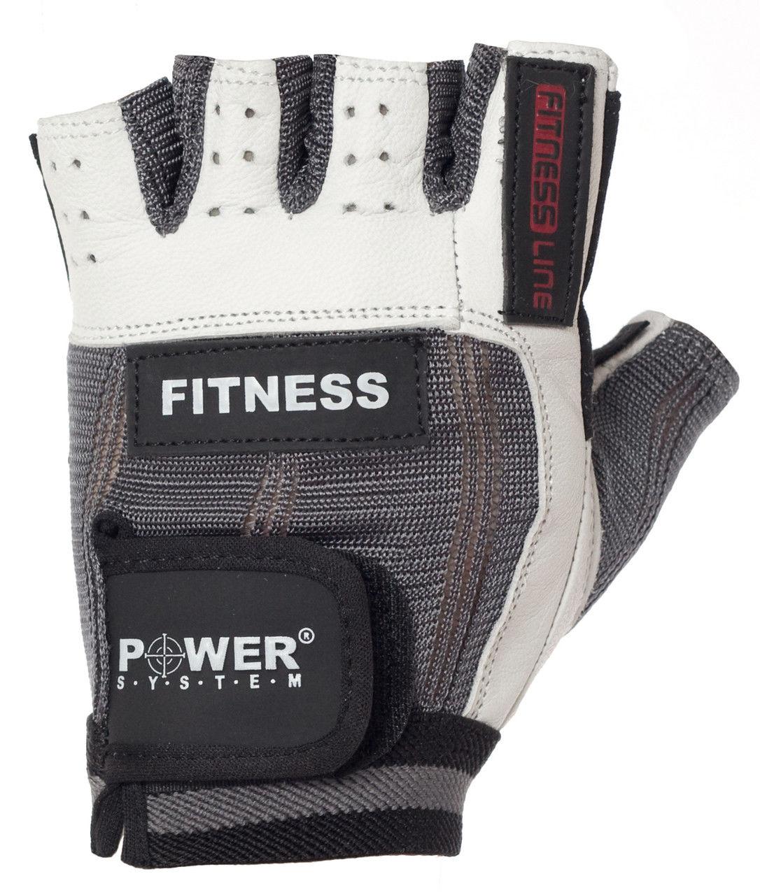 Перчатки Power System Fitness PS-2300 M, Серый фото видео изображение