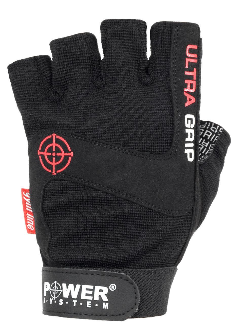 Перчатки Power System Ultra Grip PS-2400 M, Черный фото видео изображение