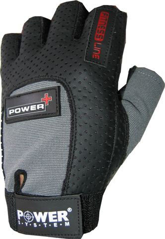 Перчатки Power System Power Plus PS-2500 M, Серый фото видео изображение