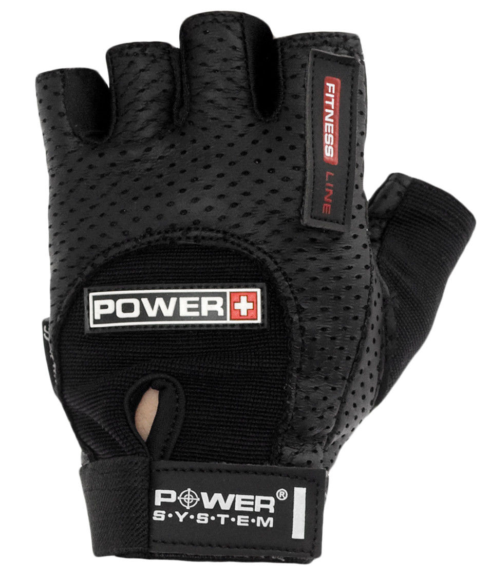 Перчатки Power System Power Plus PS-2500 S, Черный фото видео изображение
