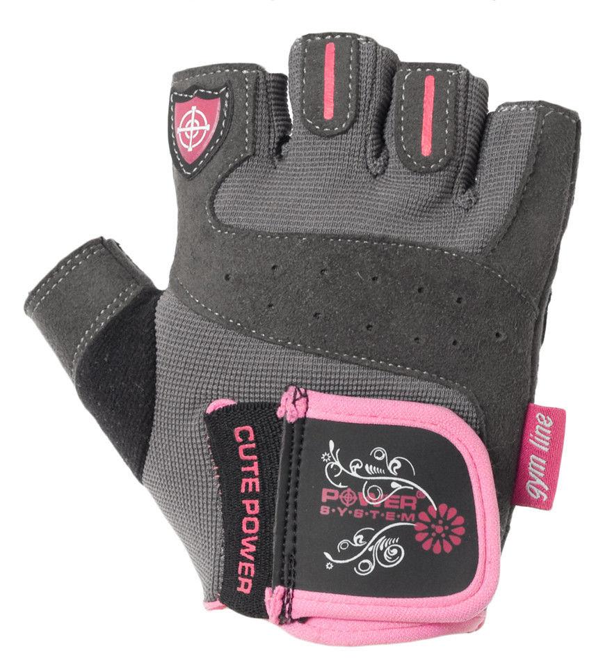 Перчатки Power System Cute Power PS-2560 L, Розовый фото видео изображение