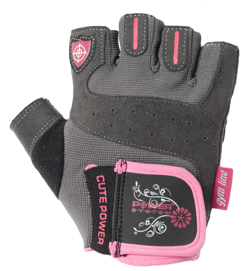 Перчатки Power System Cute Power PS-2560 S, Розовый фото видео изображение