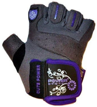Перчатки Power System Cute Power PS-2560 S, Фиолетовый фото видео изображение