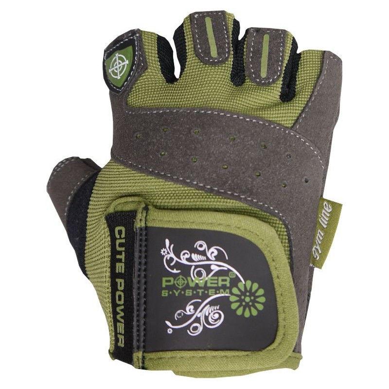 Перчатки Power System Cute Power PS-2560 XS, Зеленый фото видео изображение