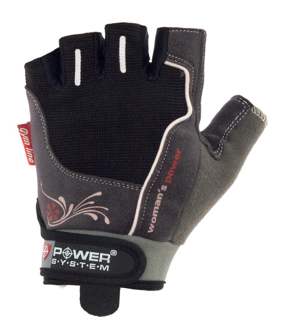 Перчатки Power System Woman's Power PS-2570 M, Черный фото видео изображение