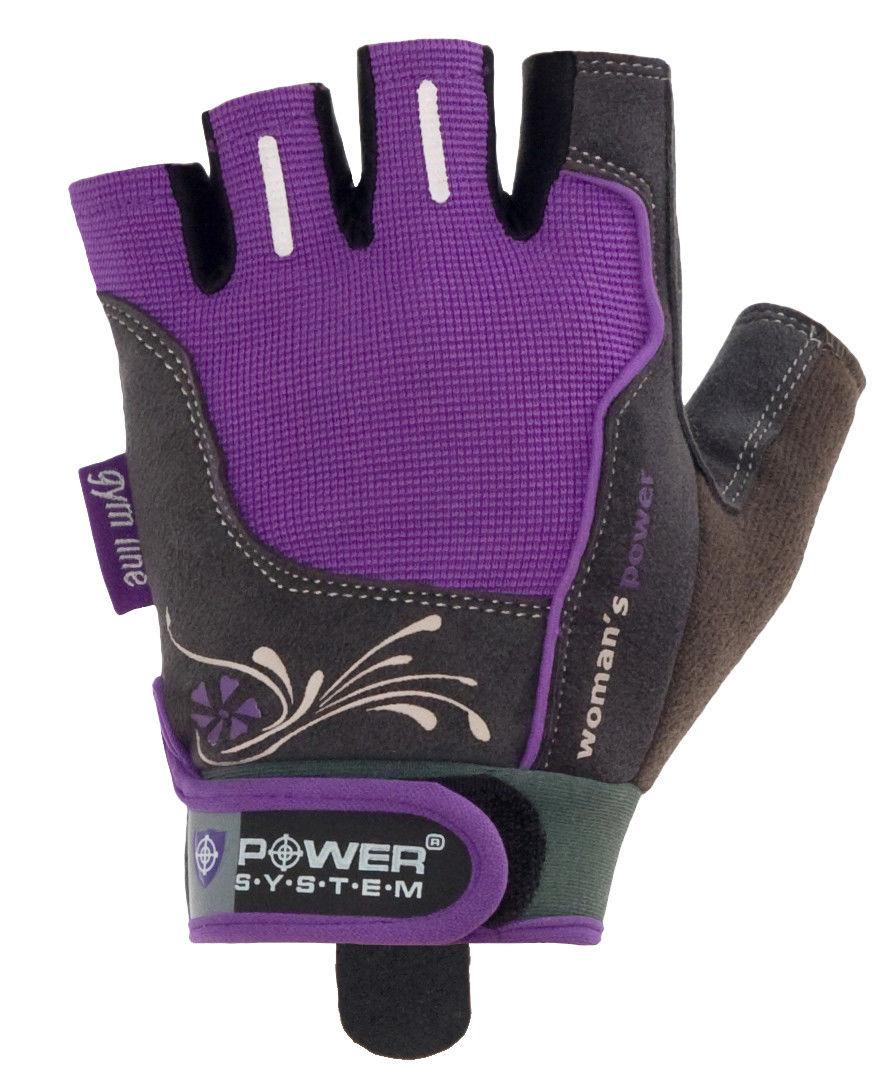 Перчатки Power System Woman's Power PS-2570 S, Фиолетовый фото видео изображение