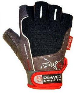 Перчатки Power System Woman's Power PS-2570 S, Красный фото видео изображение