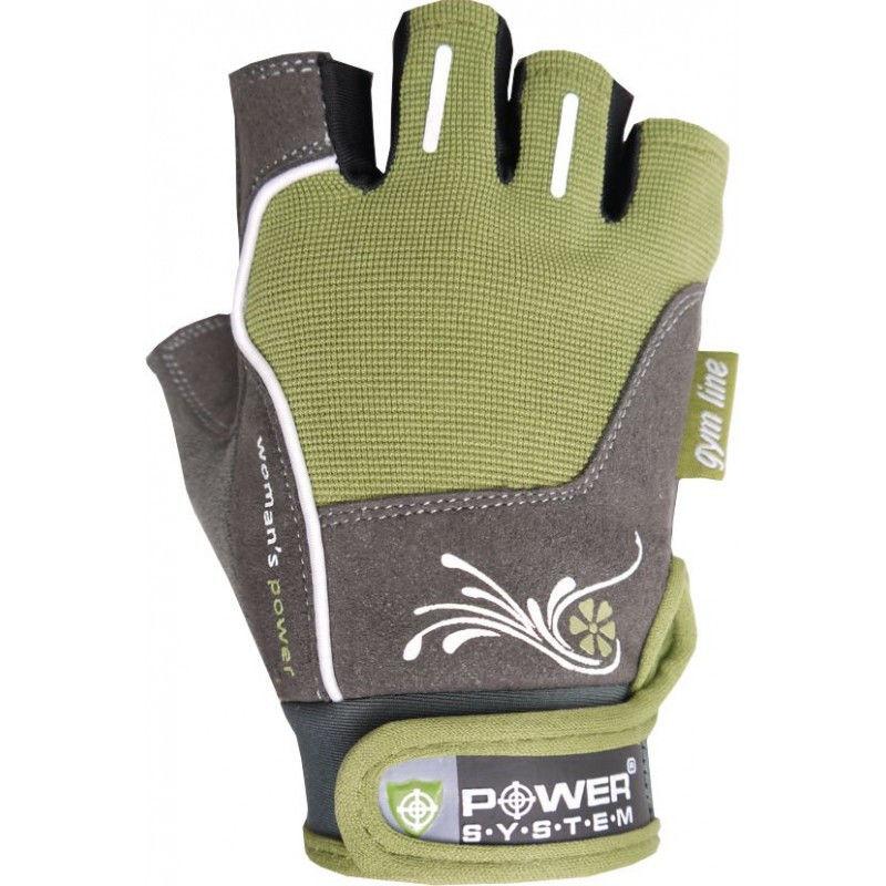 Перчатки Power System Woman's Power PS-2570 S, Зеленый фото видео изображение