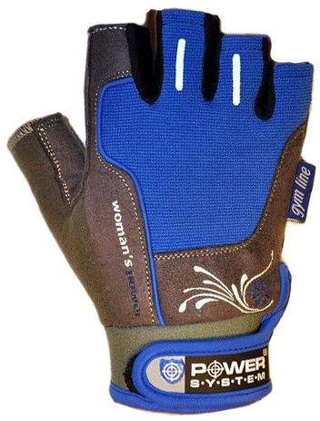 Перчатки Power System Woman's Power PS-2570 XS, Синий фото видео изображение