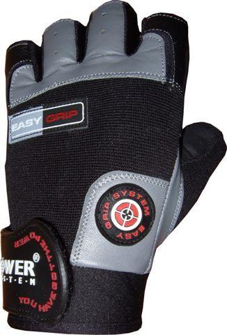Перчатки Power System Easy Grip PS-2670 M, Чено-серый фото видео изображение