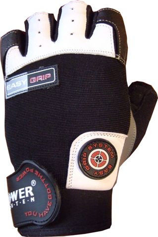Перчатки Power System Easy Grip PS-2670 XS, Черно-белый фото видео изображение