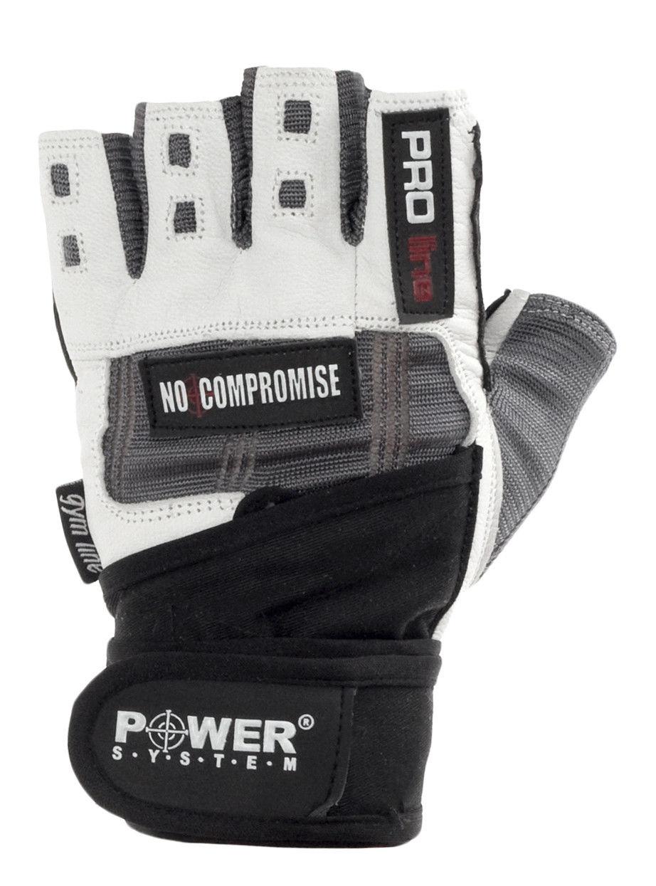 Перчатки Power System No Compromise PS-2700 2XL, Серо-белый фото видео изображение