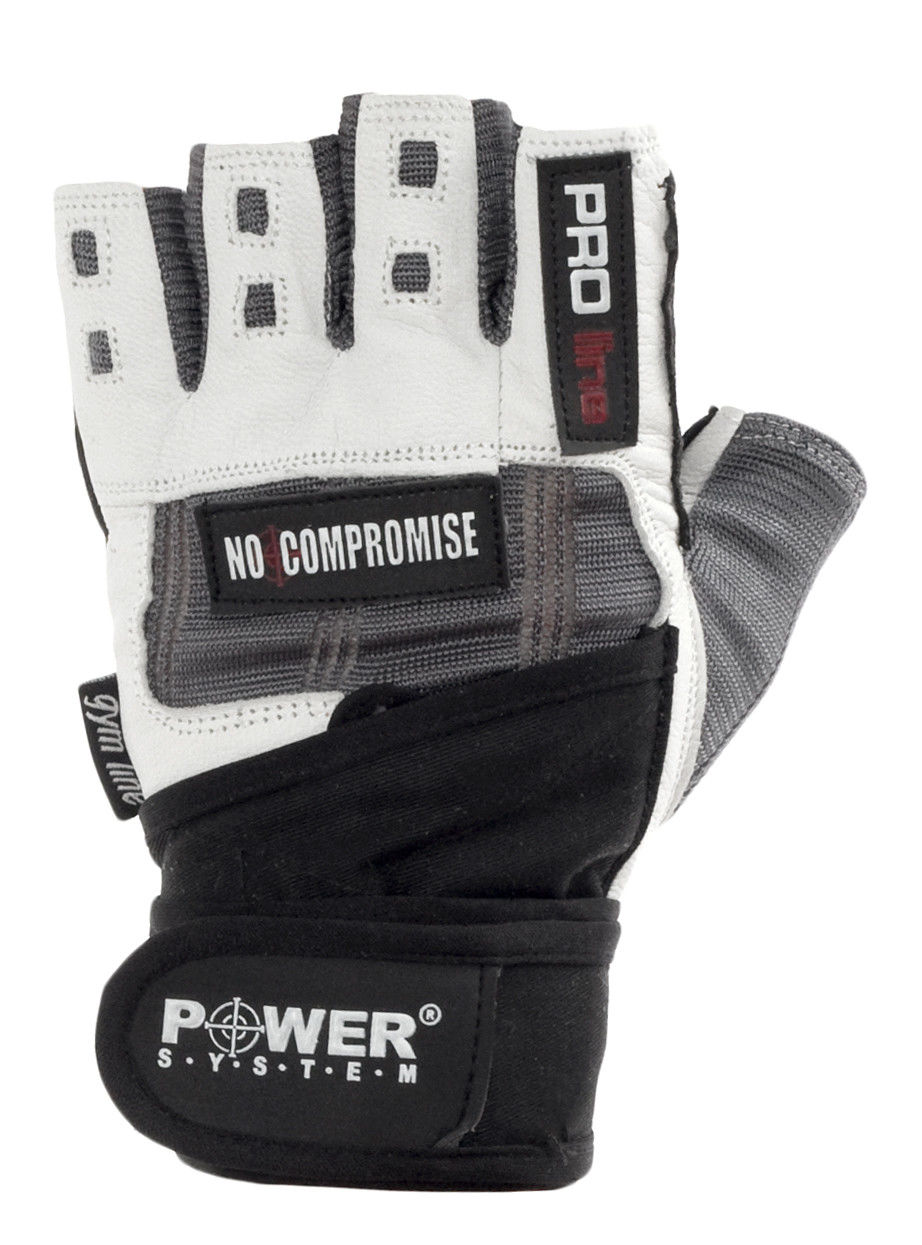 Перчатки Power System No Compromise PS-2700 S, Серо-белый фото видео изображение