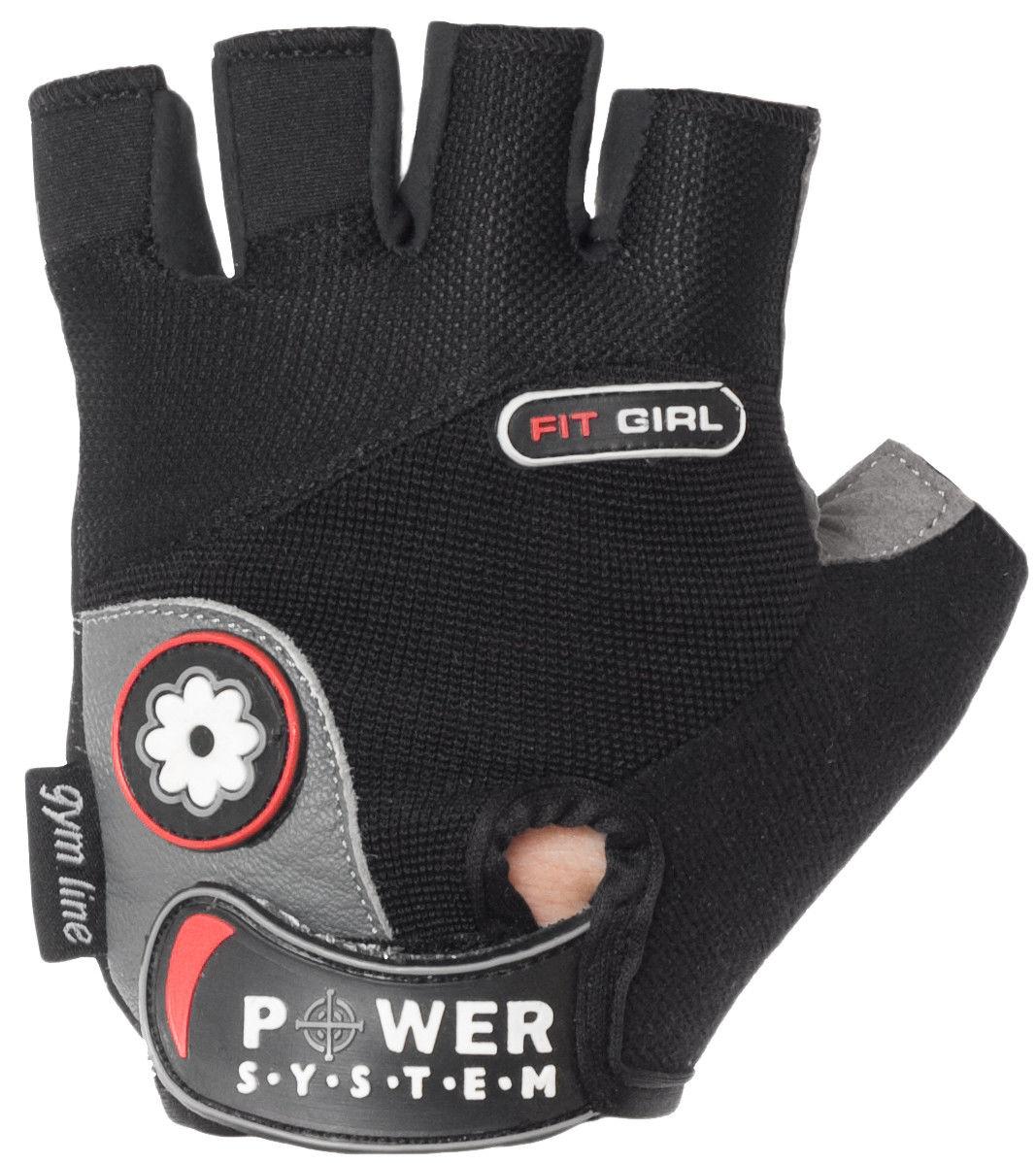 Перчатки Power System Fit Girl PS-2900 M, Черный фото видео изображение