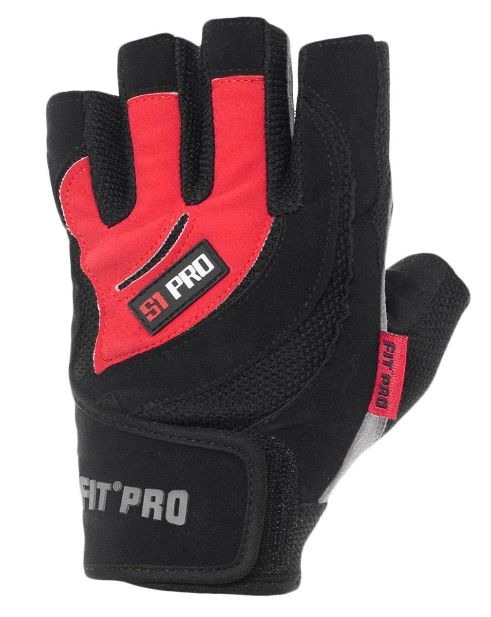 Перчатки для кроссфита Power System FP-04 S2 Pro S, Красный фото видео изображение