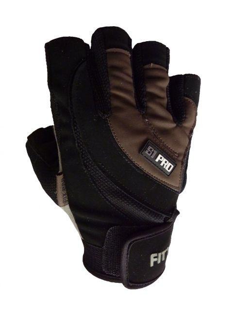 Перчатки для кроссфита Power System FP-04 S2 Pro S, Коричневый фото видео изображение