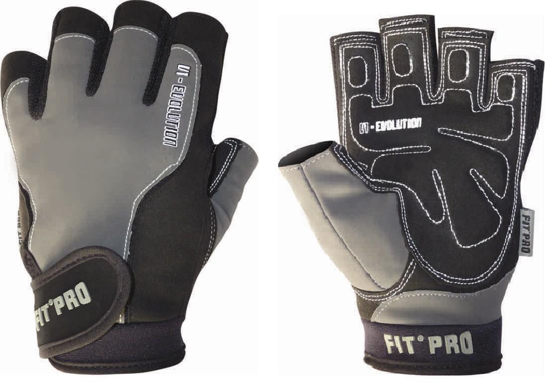 Перчатки для кроссфита Power System FP-05 V1 Pro 2XL, Черный фото видео изображение