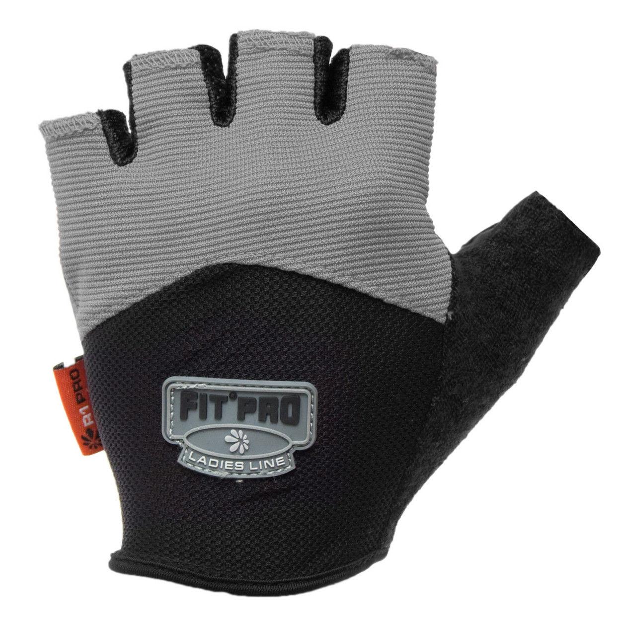 Перчатки для кроссфита Power System FP-06 R1 Pro L, Серый фото видео изображение