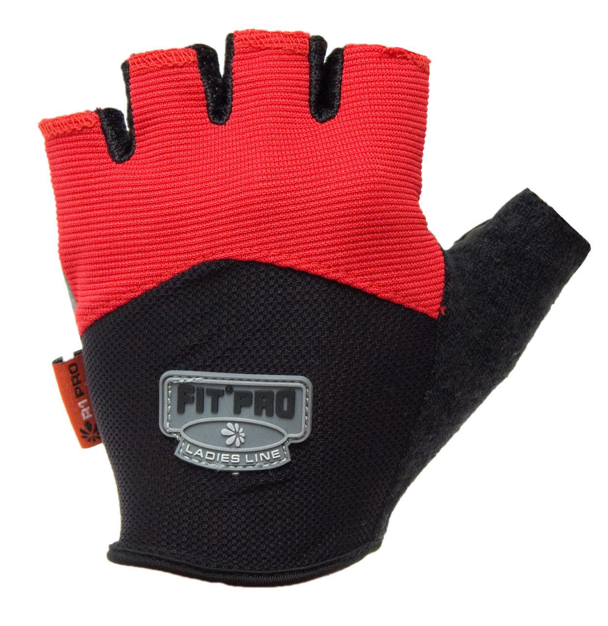 Перчатки для кроссфита Power System FP-06 R1 Pro XL, Красный фото видео изображение