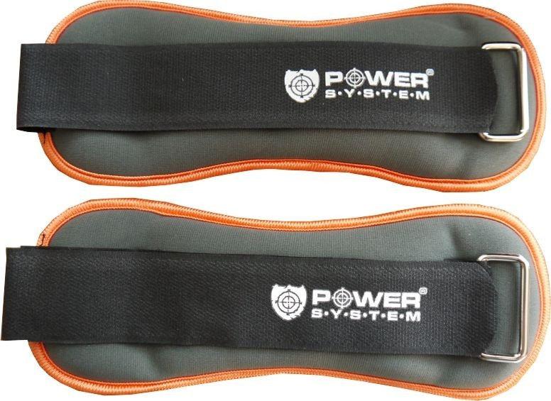 Отягощения для ног фиксированные Power System 1 kg PS - 4046 (пара) фото видео изображение