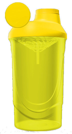 фото Шейкер Wave 600 ml Желтый видео отзывы