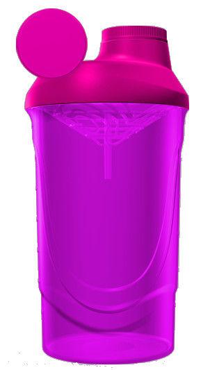 фото Шейкер Wave 600 ml Розовый видео отзывы