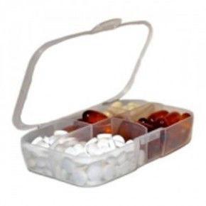 Цена Таблетница Buchsteiner Pill Box Белый