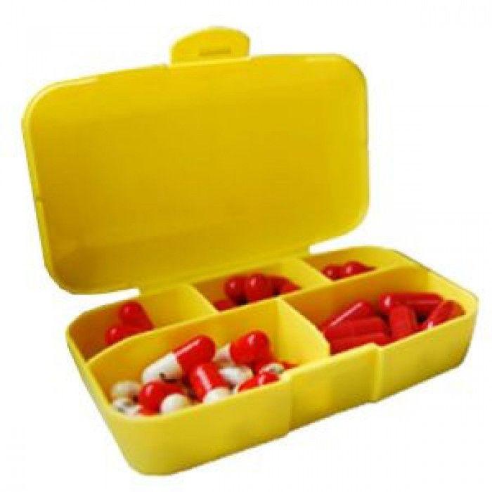 Цена Таблетница Buchsteiner Pill Box Желтый