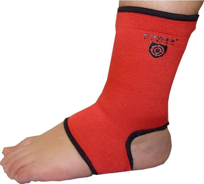 фото Голеностоп Power System Ankle Support PS-6003 M, Красный видео отзывы
